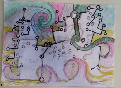 Line and Swirl